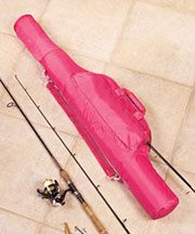 Pink Fishing Gear Bags?! Love it! #fishing #glamping #pink #outdoorswoman