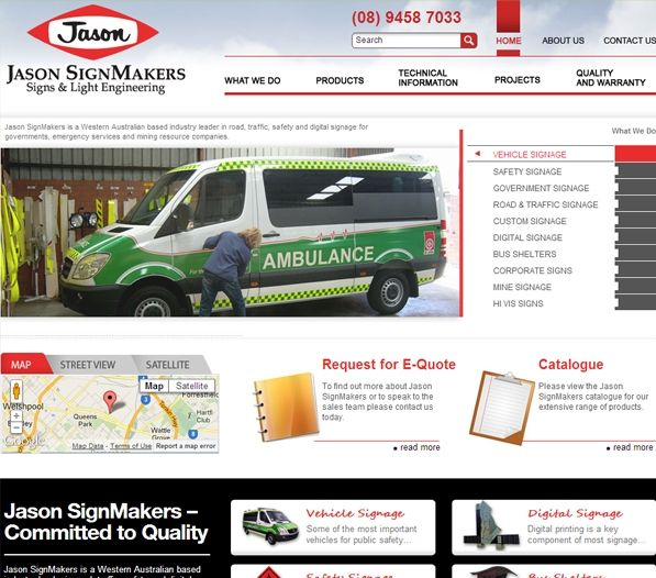 Exa has successfully created a user-friendly, keyword rich website for Jason SignMakers. Businesses today understand the importance of having a highly ranked keyword enriched website, as it helps in attracting popular search engines, which in turns helps in making their website popular. Jason SignMakers is enjoying great profitable growth with a strong online presence created by Exa.