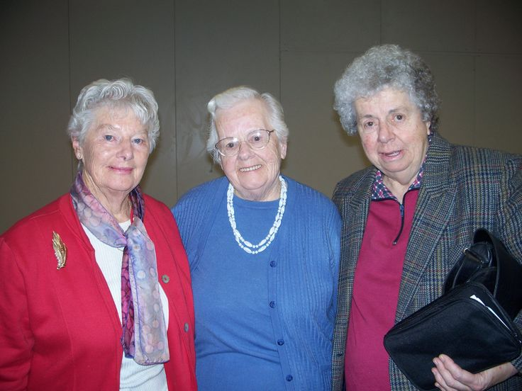 Nana with her friend Mary and her sister Myrtle