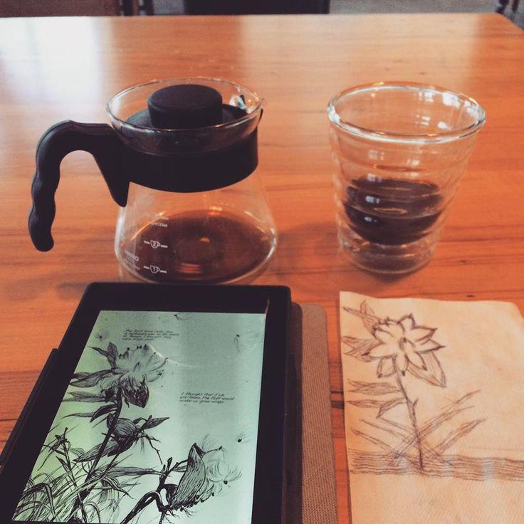 Coffee and a Book = Heaven  #ReadOn #Kobo