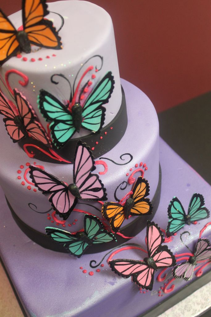 Butterfly cake LOVE THIS
