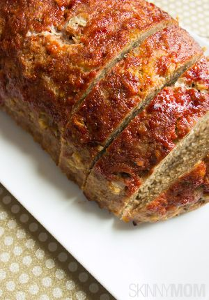 Skinny Turkey Meatloaf  www.skinnymom.com/the-supper-club-by-skinny-mom/