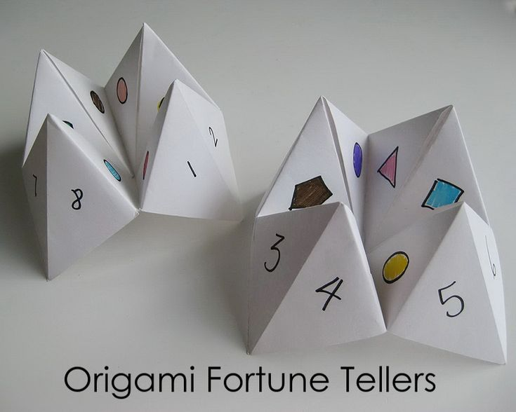 1000 ideas about origami fortune teller on pinterest