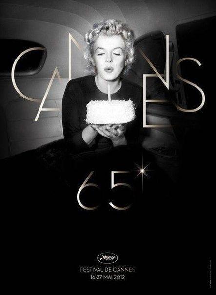 La 65e édition du Festival de Cannes, en 2012 Auteur de l'affiche : L'agence Bronx (Paris) qui a réalisé l'affiche à partir d'une photo d'Otto L. Bettmann Palme d'Or en 2012 : Amour de Michael Haneke