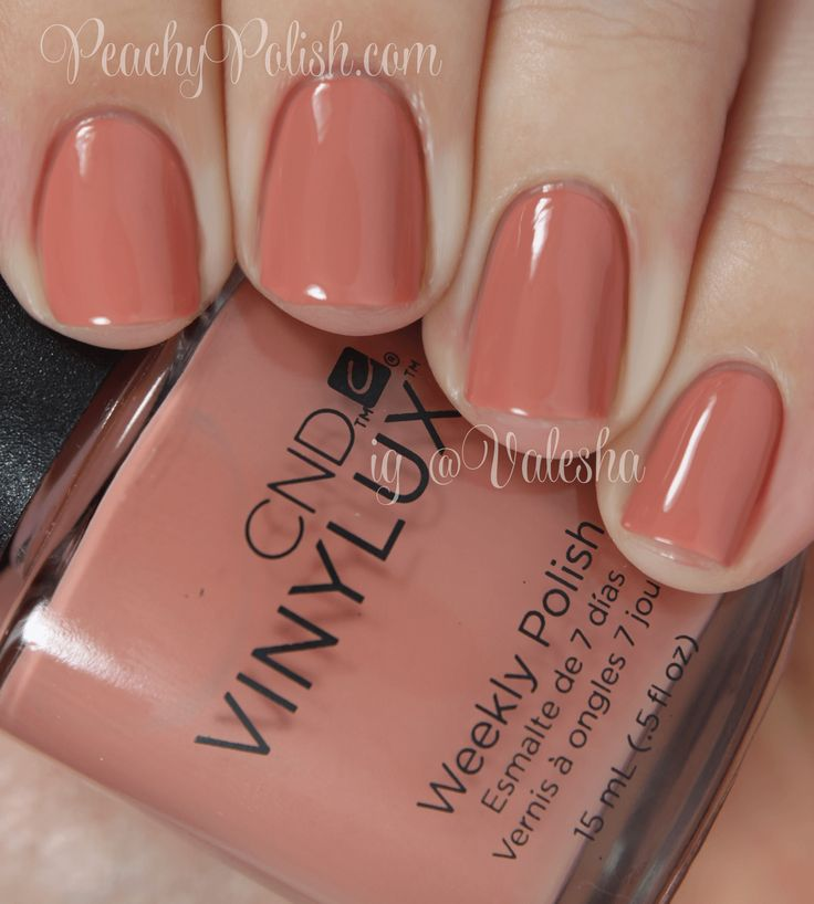 CND Vinylux Clay Canyon - Peachy Polish