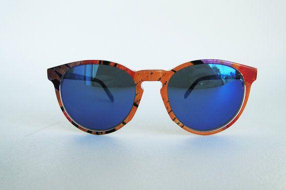 Occhiale Vintage donna anni '90 di Puntidivi su Etsy #sunglasses #mirror #vintage