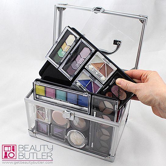 3 Black Beauty Butler Divas, 1 Flirt & FREE Cosmetic Bag. Worlds Best Makeup Accessory