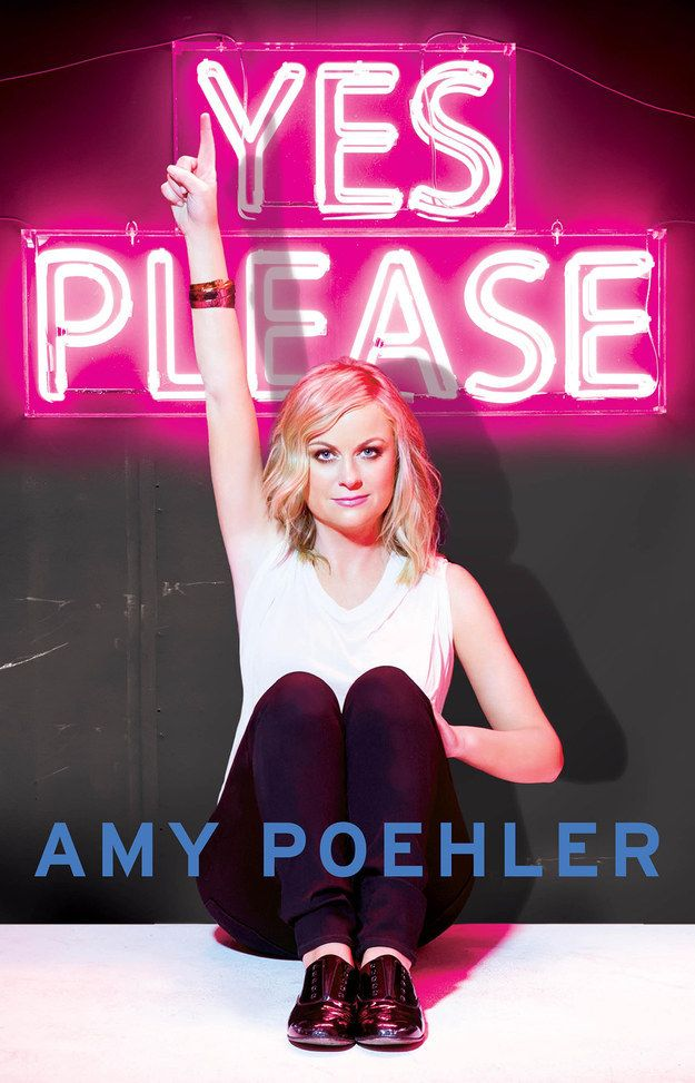 Yes Please by Amy Poehler. Comedian, actor, producer, and general delight Amy Poehler has followed in the steps of her onscreen collaborator Tina Fey with this offering. Yes Please is a mishmash of things: part-memoir, part-self-help manual, often a how-to manual. It's also very sweet, with vignettes from Poehler (and her parents!) about life, career, parenthood, divorce, and everything else she can think of.