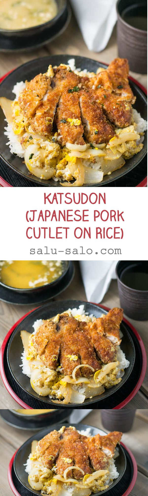 Katsudon (Japanese Pork Cutlet on Rice)
