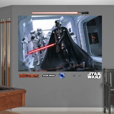 Fathead Star Wars Fallen Rebel Wall Mural   Wall Sticker, Mural, U0026 Decal  Designs At Wall Sticker Outlet Part 51