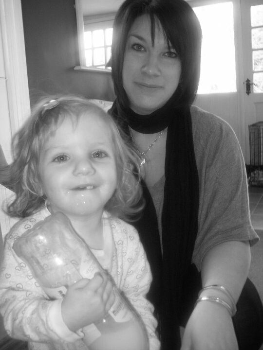 Evie and me