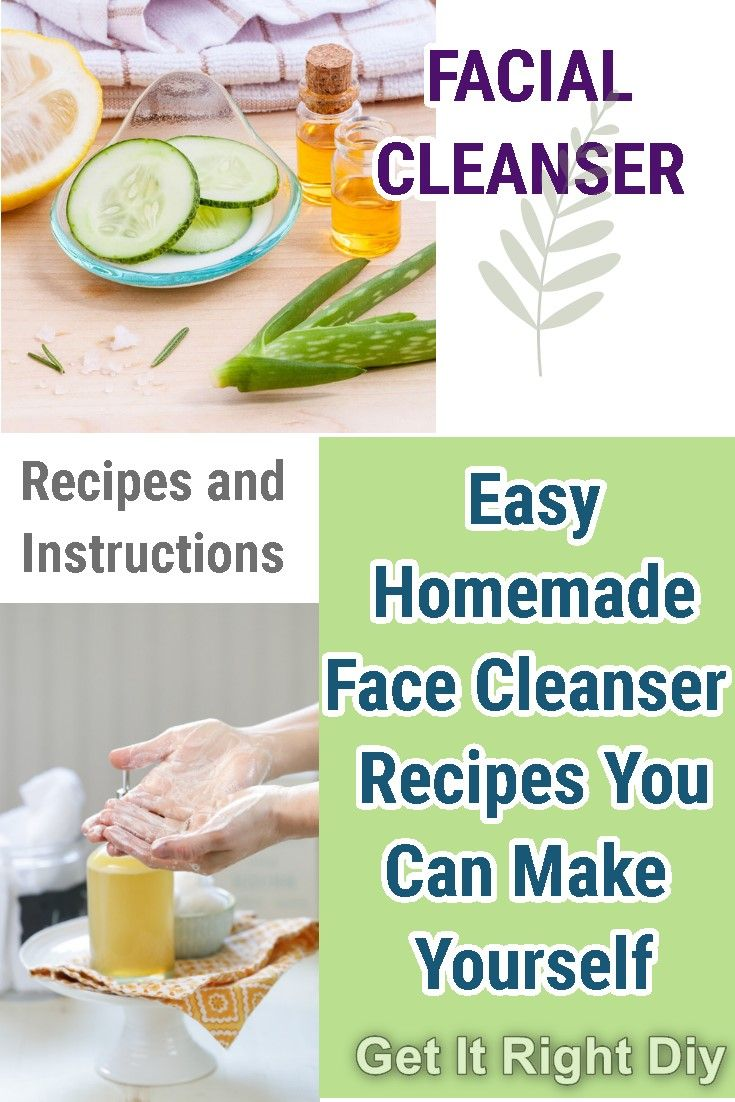 These Homemade Face Cleansers Work As Good As The Commercial