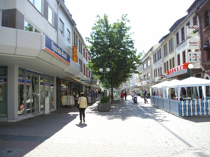 Zweibrucken, Germany. We lived there 3 years. Downtown area