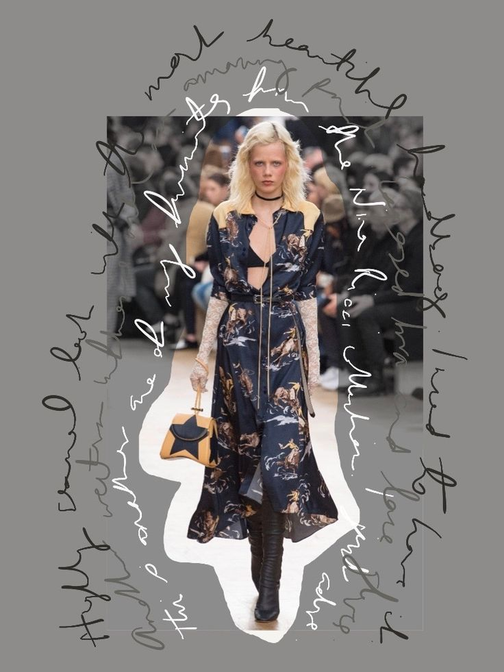 Rodeo Chic - Nina Ricci AW17 | The Lipstick Daily  My insight in to this western cowboy influenced collection from the french house Nina Ricci