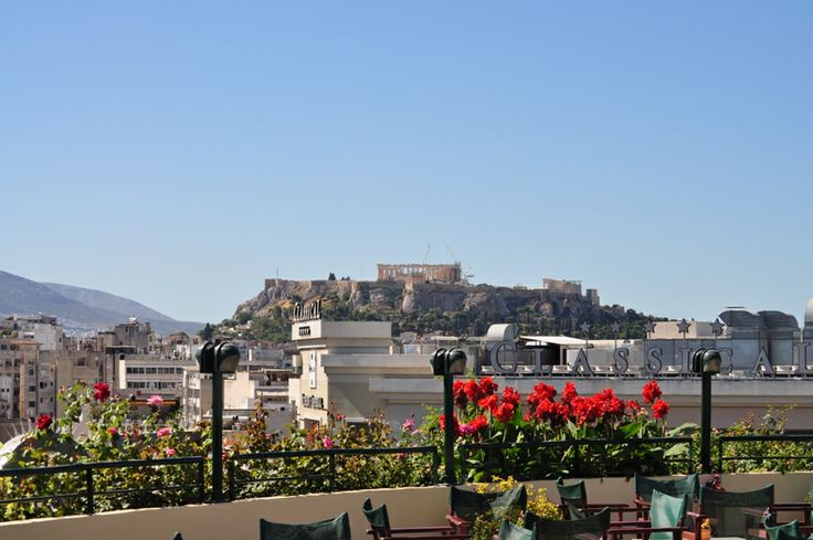 Enjoy this beautiful view of #Athens city ! #Stanley hotel