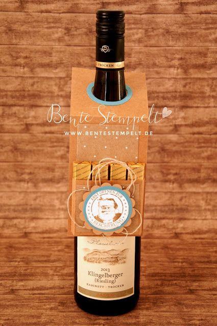 Anleitung Flaschenanhänger/ Bottle Hanger tutorial
