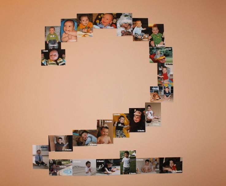 Birthday Photo Display