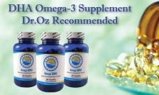 $39 for a 3 Month Supply of DHA Omega-3s as recommended by Dr. Oz, Tax and Shipping Included ($ 150 Value)