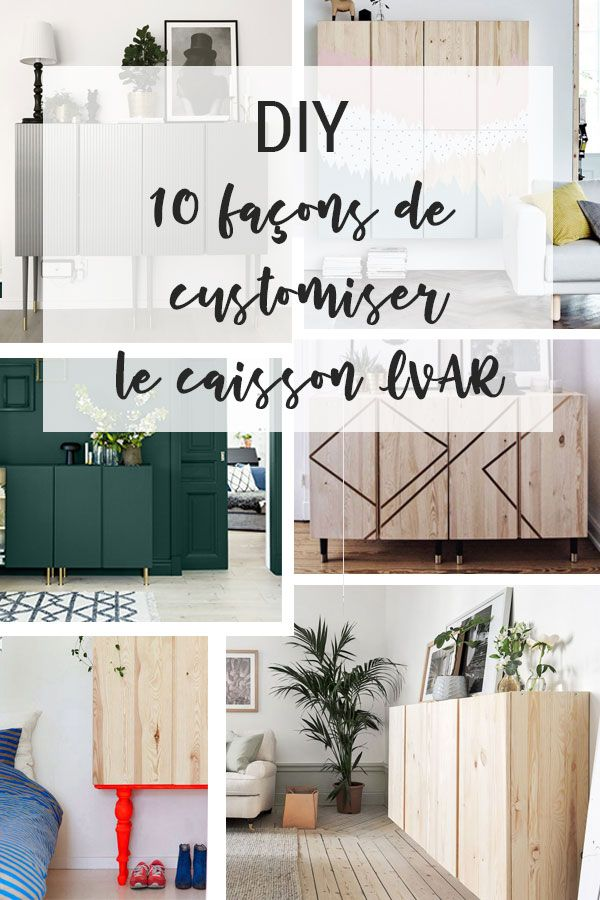 Ikea Hacks Les Top 10 Des Meilleurs Detournement Des Modules Ivar L Atelier Azimute Frosta Ikea Ikea Meubles Ikea