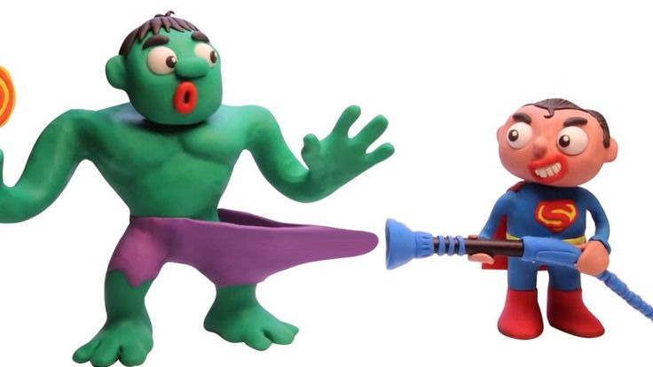 Hulk Pretends To Play With Vacuum Cleaner 🤢 Play Doh ...