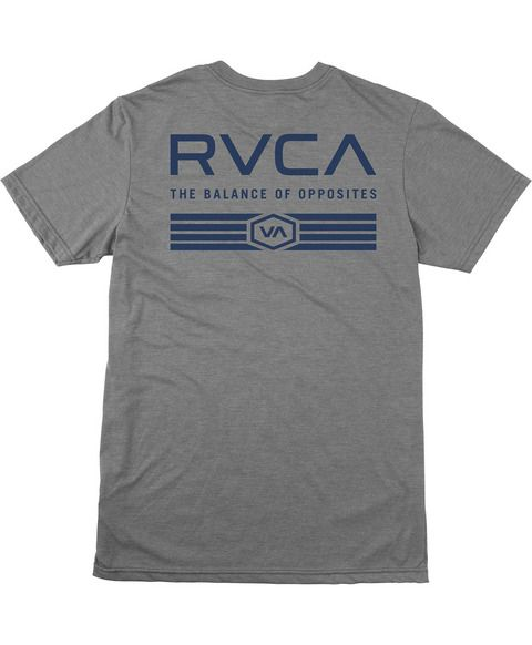 RVCA TEES HAT PATCH T-SHIRT