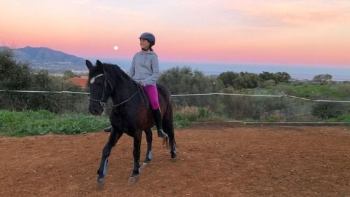 Enjoying a warm up on Tio Pepe while the sun goes down on the http://ift.tt/2Fwg8Dv
