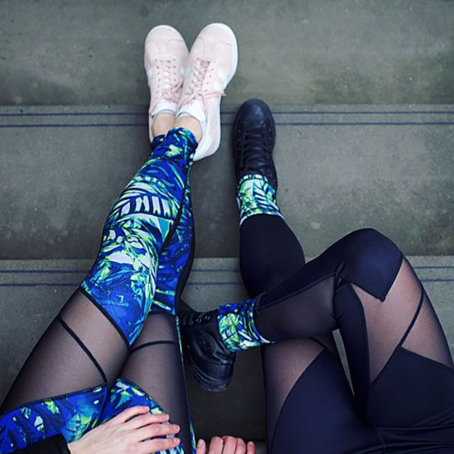 Reversible leggings, here to prevent any accidental 'I wore the same outfit' moments, #ReverseIT