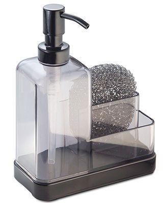 Interdesign Soap Dispenser Sponge Caddy Kitchen Pinterest Shops Soaps And Products