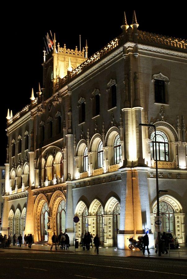 Rossio main railway station, #Lisbon #Portugal