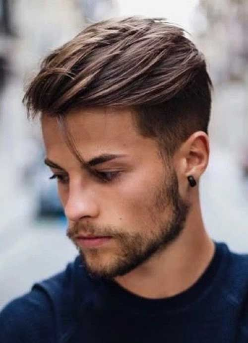Man Hairstyle Panosundaki Pin