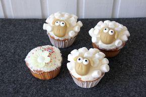 Schaf Cupcakes Rezept