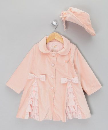 Take A Look At This Pink Coat With Ruffles Amp Bows Infant
