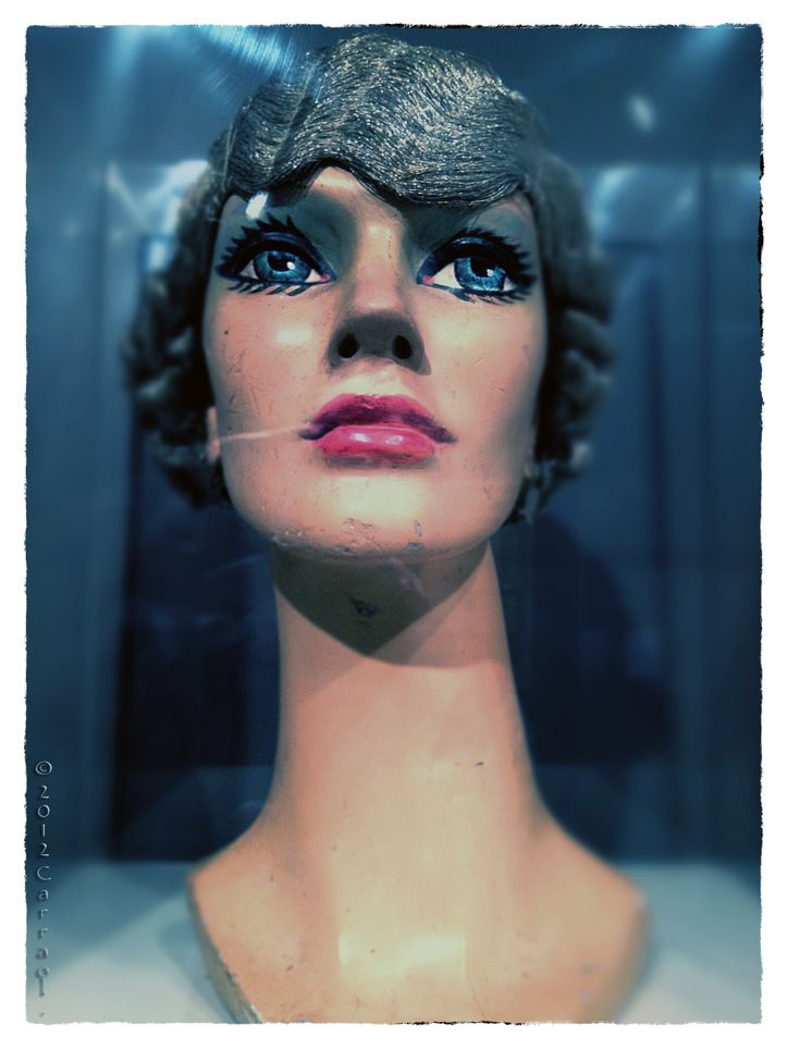 "Mannequin at Museo del Objeto del Objeto.   (The""purpose"" of the Object Museum), was opened in October 2010 in Mexico City. It is the first space in the city dedicated to the collection, preservation, exhibition and propagation of diverse expressions of design and communication."