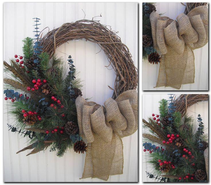pinterest christmas wreaths | ... Recetas: Adornos de Navidad: Coronas de Navidad - Christmas Wreath