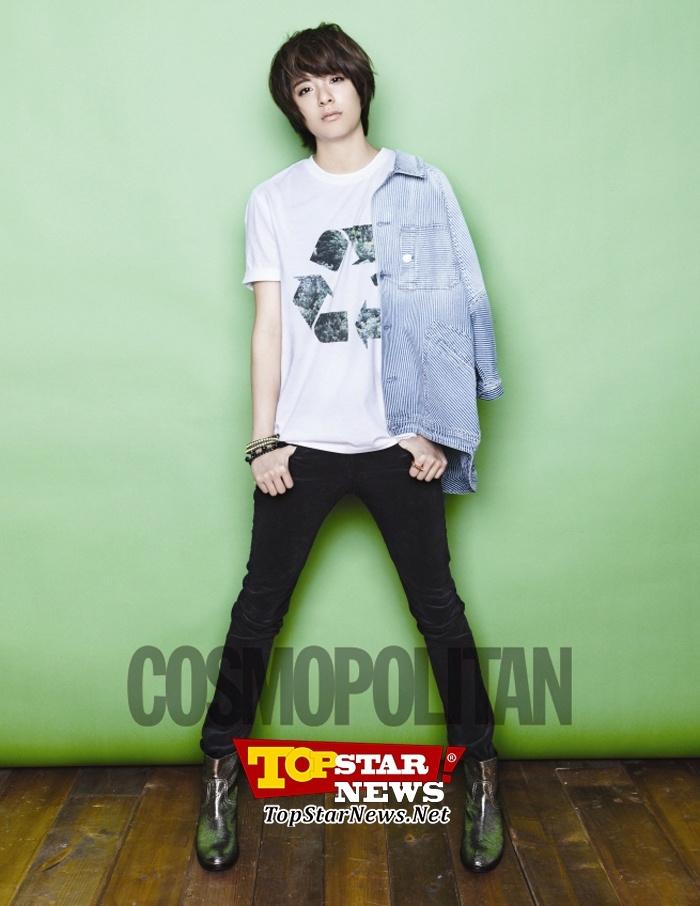 f(x) 엠버-크리스탈과 EXO-K 수호-백현-디오, '코스모폴리탄' 11월호 화보 등장 ( I <3 Amber) ~^.^~