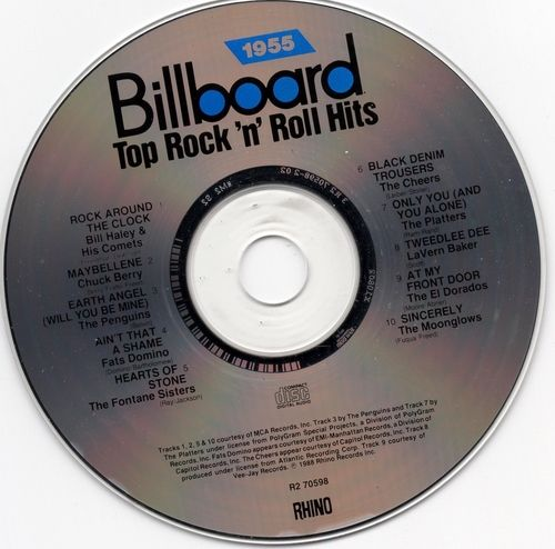 1955 Billboard Top Rock 'n' Roll Hits 1988 USED CD Professionally Cleaned