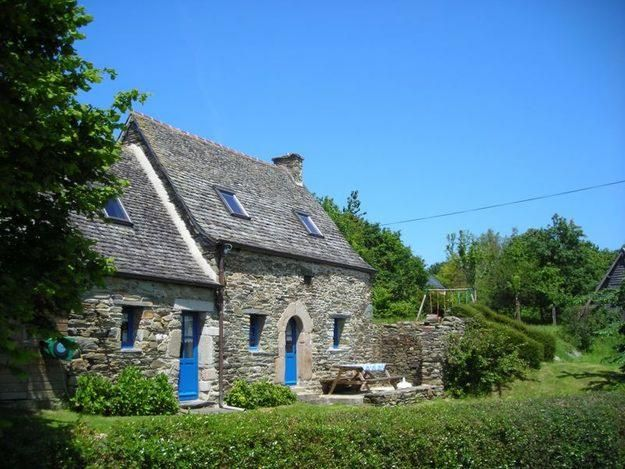 17 best images about maisons long res bretagne on for Maison style breton
