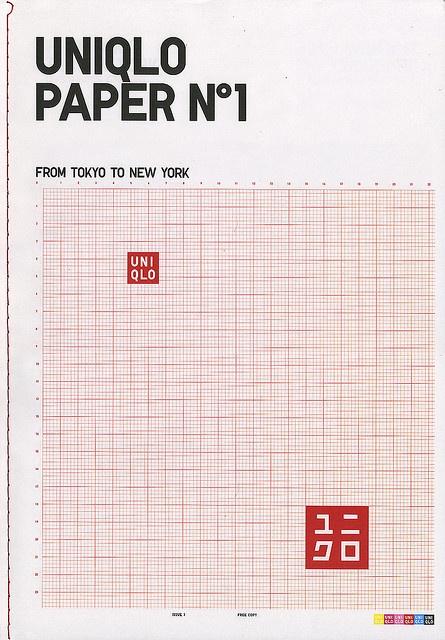 Uniqlo Paper: Issue 01