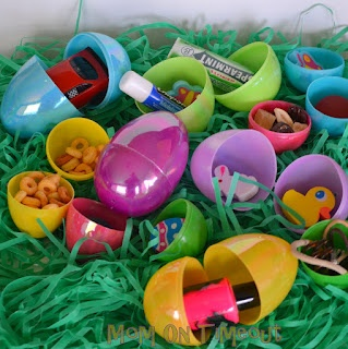 Alternatives to Candy in Easter Eggs
