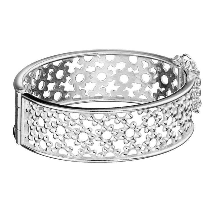 Kalevala Koru / Kalevala Jewelry / Millefiori-rannekoru / Millefiori Bracelet / Design Kirsti Doukas / Silver