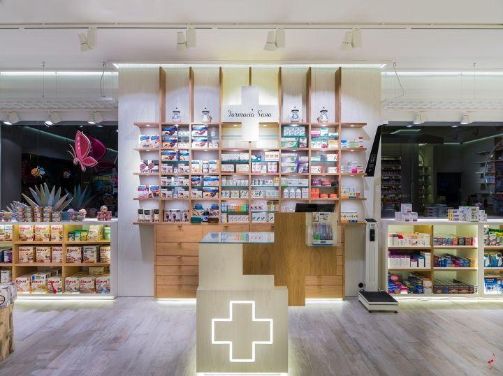 S´ana Pharmacy by Marketing Jazz, Madrid – Spain » Retail Design Blog
