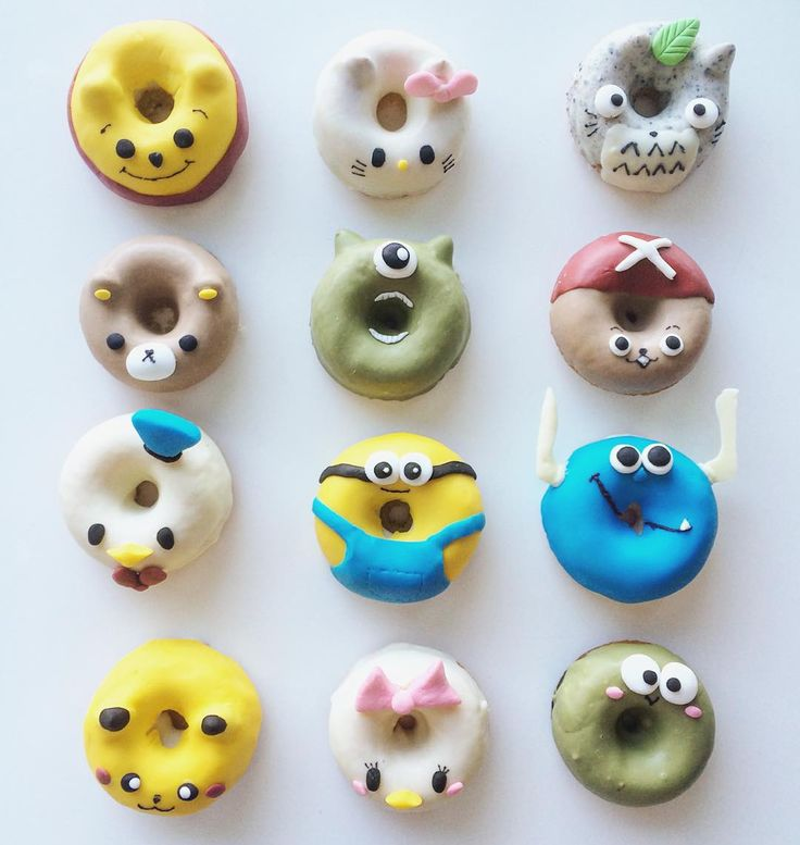 Cartoon Doughnut Factory: 17 Best Images About Kids Cakes! On Pinterest