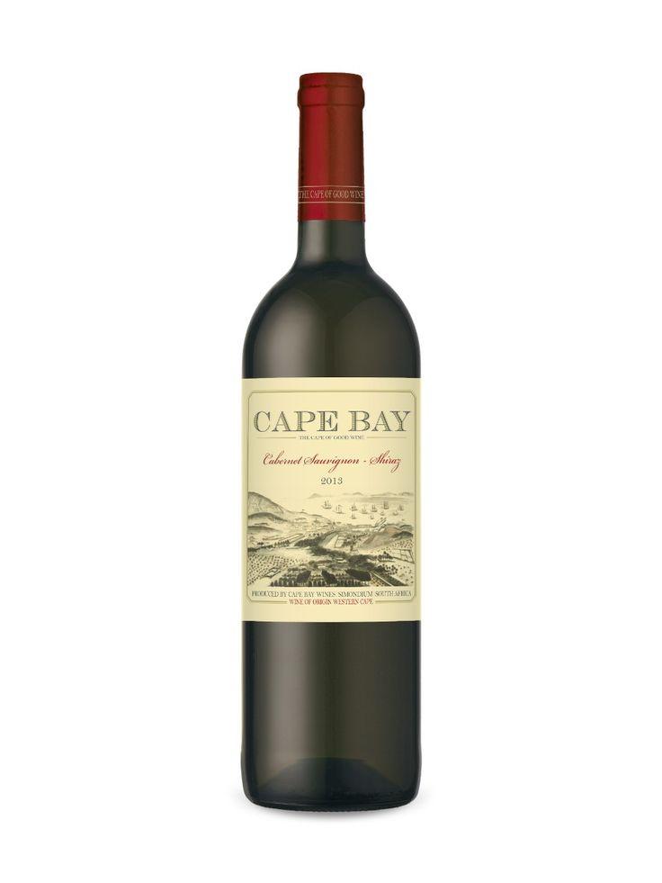 Cape Bay Cabernet Sauvignon-Shiraz 11.00 5 grams xdry