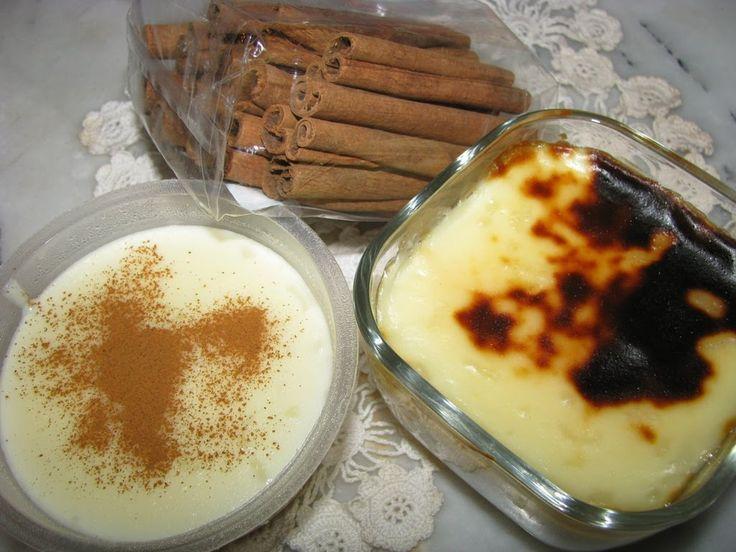 SÜTLAÇ. Турецкий Сютлач (молочный пудинг).