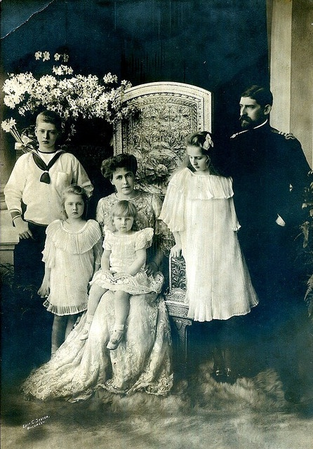 Romanian Royal Family , King Ferdinand and Queen MArie
