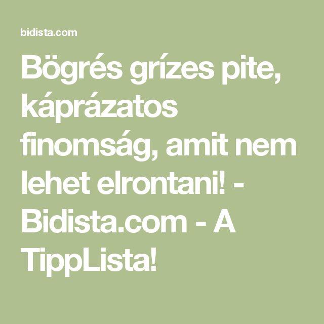 Bögrés grízes pite, káprázatos finomság, amit nem lehet elrontani! - Bidista.com - A TippLista!