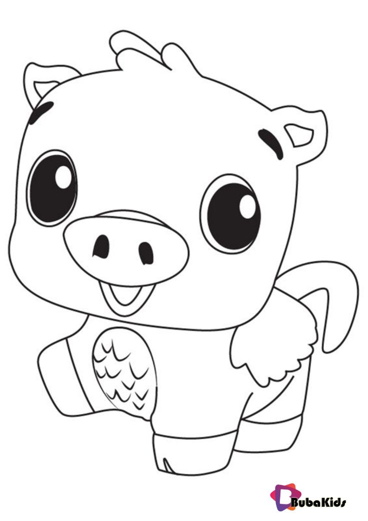 hatchimals coloring pages pig coloring hatchimals pages