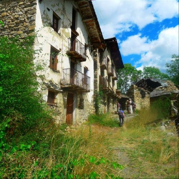 Images of Dark Abandoned Medieval Village With Bandits