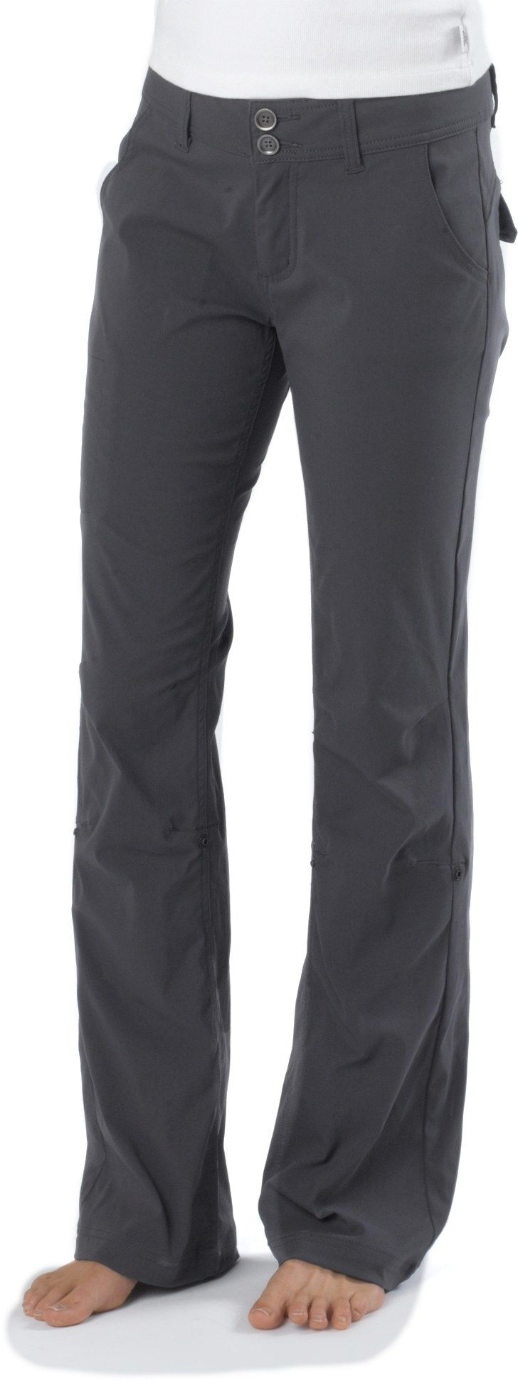 prAna Halle Pants - tougher fabric and cuter fit than your average hiking pant