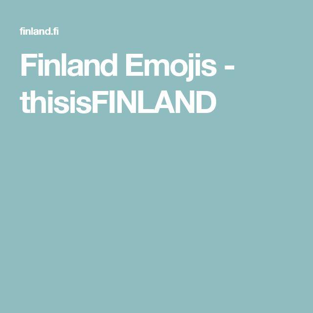 Finland Emojis - thisisFINLAND